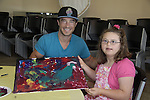 Ryan Carnes - A Painting Party where actors and children and adults do paintings to be auctioned off at the Night of Stars and on the Marco Island Princess- Actors from Y&R, General Hospital and Days donated their time to Southwest Florida 16th Annual SOAPFEST - a celebrity weekend May 22 thru May 25, 2015 benefitting the Arts for Kids and children with special needs and ITC - Island Theatre Co. on May 23 , 2015 on Marco Island, Florida. (Photos by Sue Coflin/Max Photos)