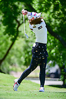 Pornanong Phatlum (THA) watches her tee shot on 13 during round 1 of  the Volunteers of America Texas Shootout Presented by JTBC, at the Las Colinas Country Club in Irving, Texas, USA. 4/27/2017.<br /> Picture: Golffile | Ken Murray<br /> <br /> <br /> All photo usage must carry mandatory copyright credit (&copy; Golffile | Ken Murray)