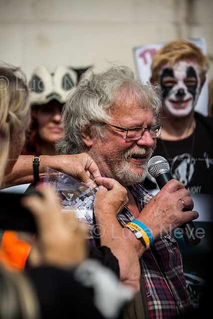 Bill Oddie OBE (English author, ornithologist, conservationist, TV presenter on wildlife issues, actor, comedian, artist, naturalist and musician). <br />