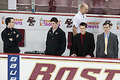 - The Boston College Eagles defeated the visiting University of Vermont Catamounts to sweep their quarterfinal matchup on Saturday, March 16, 2013, at Kelley Rink in Conte Forum in Chestnut Hill, Massachusetts.
