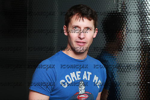 JAMES BLUNT<br />  - Photosession in Paris France - 16 Oct 2013.  Photo credit: Manon Violence/Dalle/IconicPix