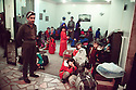 Turkey 1991.Iraqi Kurdish refugees on their way to France