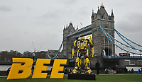 atmosphere at the &quot;Bumblebee&quot; film cast photocall, Potters Fields Park, Tower Bridge Road, London, England, UK, on Wednesday 05 December 2018.<br /> CAP/CAN<br /> &copy;CAN/Capital Pictures