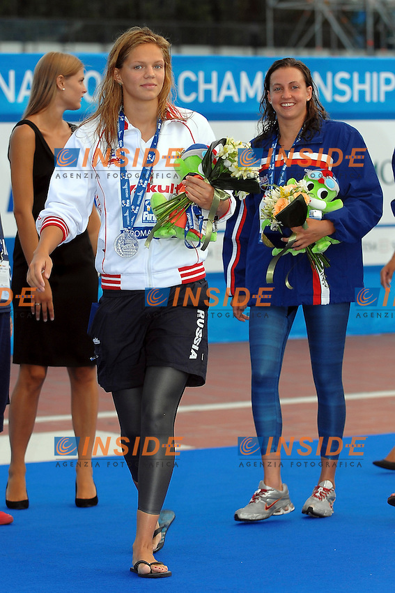 Roma 28th July 2009 - 13th Fina World Championships From 17th to 2nd August 2009.Swimming Men's 200m Freestyle.Yuliya EFIMOVA (RUS).photo: Roma2009.com/InsideFoto/SeaSee.com . .Foto Andrea Staccioli Insidefoto