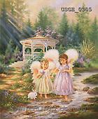 Dona Gelsinger, CHILDREN, paintings(USGE0305,#K#) Kinder, niños, illustrations, pinturas angels, ,everyday