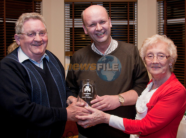 Grand Marshall award, presented to Peter Maroney, the founder of SOSAD..Picture: Shane Maguire / www.newsfile.ie.
