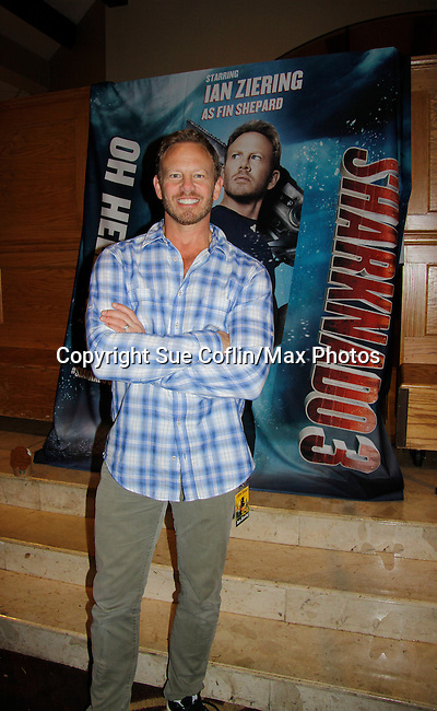 Ian Ziering (GL, Beverly Hills, 90210, Sharknado), appears at 25th Anniversary of Chiller Theatre on October 25, 2015 at Sheraton Hotel, Parsippany, NJ. (Photo by Sue Coflin/Max Photos)