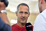 07.10.2018, wirsol Rhein-Neckar-Arena, Sinsheim, GER, 1 FBL, TSG 1899 Hoffenheim vs Eintracht Frankfurt, <br /> <br /> DFL REGULATIONS PROHIBIT ANY USE OF PHOTOGRAPHS AS IMAGE SEQUENCES AND/OR QUASI-VIDEO.<br /> <br /> im Bild: Adi H&uuml;tter / Huetter / Hutter (Trainer Eintracht Frankfurt)<br /> <br /> Foto &copy; nordphoto / Fabisch