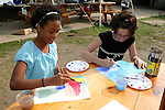Carly & Mindy Painting