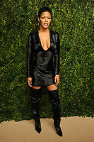 NEW YORK, NY - NOVEMBER 6: Teyana Taylor at the 14th Annual CFDA Vogue Fashion Fund Gala at Weylin in Brooklyn, New York City on November 6, 2017. <br /> CAP/MPI/JP<br /> &copy;JP/MPI/Capital Pictures