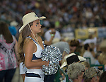 A photograph during Wolf Pack Night at the Reno Rodeo on Wednesday, June 22, 2016.