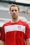 28 May 2010: Steve Cherundolo. The United States Men's National Team held a practice session at Lincoln Financial Field in Philadelphia, Pennsylvania the day before playing Turkey in their final home friendly prior to the 2010 FIFA World Cup in South Africa.