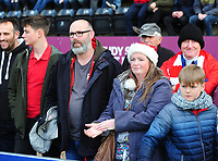 Lincoln City fans enjoy the pre-match atmosphere<br /> <br /> Photographer Andrew Vaughan/CameraSport<br /> <br /> The EFL Sky Bet League Two - Lincoln City v Newport County - Saturday 22nd December 201 - Sincil Bank - Lincoln<br /> <br /> World Copyright &copy; 2018 CameraSport. All rights reserved. 43 Linden Ave. Countesthorpe. Leicester. England. LE8 5PG - Tel: +44 (0) 116 277 4147 - admin@camerasport.com - www.camerasport.com