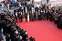 Gilles Lelouche; Mathieu Amalric; Guillaume Canet; Benoit Poelvoorde; Jean Hugues Anglade; Virginie Efira; Leila Bekhti; Philippe Katerine; Marina Fois; Felix Moati; Alban Ivanov; Balasingham Thamilchelvan; Melanie Doutey; Jonathan Zaccai; Noee Abita<br /> 13-05-2018 Cannes <br /> 71ma edizione Festival del Cinema <br /> Foto Panoramic/Insidefoto