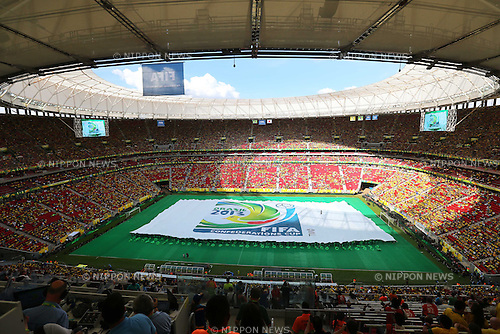 Opening Ceremony, <br /> June 15, 2013 - Football / Soccer : <br /> FIFA Confederations Cup Brazil 2013, Opening Ceremony <br /> at Estadio Nacional, Brasilia, Brazil. <br /> (Photo by Daiju Kitamura/AFLO SPORT)