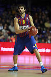 Victor Sada. FC Barcelona Regal vs Fenerbahce Ulker: 100-78 - Top 16 - Game 1.
