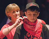 "One of the mums helping with costumes.  Special Olympics Surrey put on a show,   ""Beyond the Stars"", at the Rose Theatre, Kingston upon Thames to raise money for the  SOGB team.  The Special Olympics are for athletes with learning disabilities."