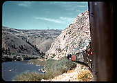 D&amp;RGW #361 C-21 with excursion train west of Iola<br /> D&amp;RGW  Iola/Black Canyon, CO  Taken by Maxwell, John W. - 9/7/1947