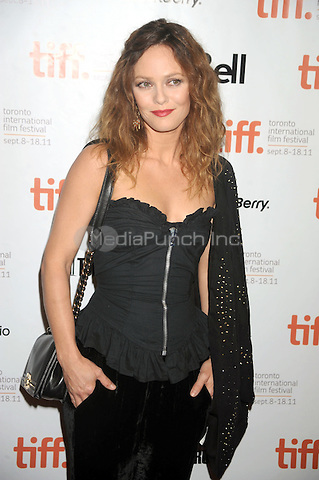 Vanessa Paradis at the 'Cafe De Flore' Premiere during the 2011 Toronto International Film Festival held at Princess of Wales theatre on September 12, 2011 in Toronto, Canada. Credit: Dennis Van Tine/MediaPunch