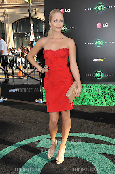 "Laura Vandervoort at the world premiere of ""Green Lantern"" at Grauman's Chinese Theatre, Hollywood..June 15, 2011  Los Angeles, CA.Picture: Paul Smith / Featureflash"