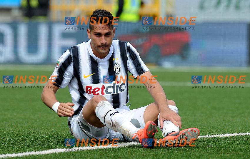 "Marco BORRIELLO (Juventus).Novara 29/04/2012 Stadio ""Silvio Piola"".Serie A 2011/2012.Football Calcio Novara Vs Juventus.Foto Insidefoto Alessandro Sabattini."