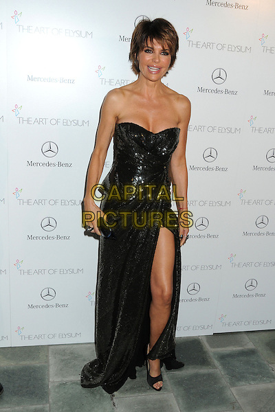 11 January 2014 - Los Angeles, California - Lisa Rinna. 7th Annual Art of Elysium Heaven Gala held at the Skirball Cultural Center.  <br /> CAP/ADM/BP<br /> &copy;Byron Purvis/AdMedia/Capital Pictures