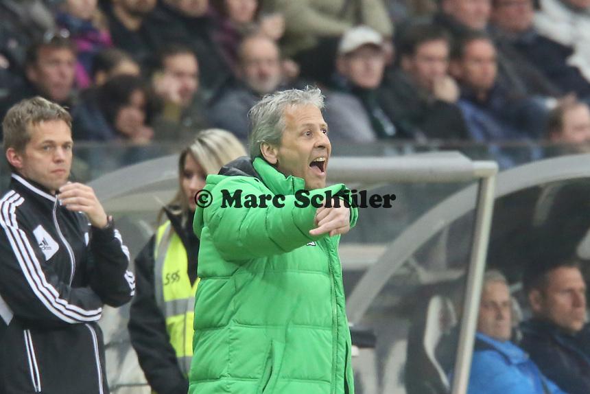 Trainer Lucien Favre (Gladbach) - Eintracht Franfurt vs. Borussia Mönchengladbach, Commerzbank Arena