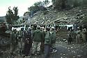 Iran 1979.Peshmergas at the headquarters of PDKI near the Iraqi border