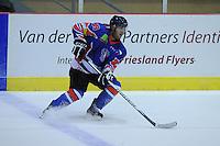 IJSHOCKEY: HEERENVEEN: THIALF: 05-10-2012, Friesland Flyers - Tilburg Trappers, Jerry Pollastrone (# 39), ©foto Martin de Jong
