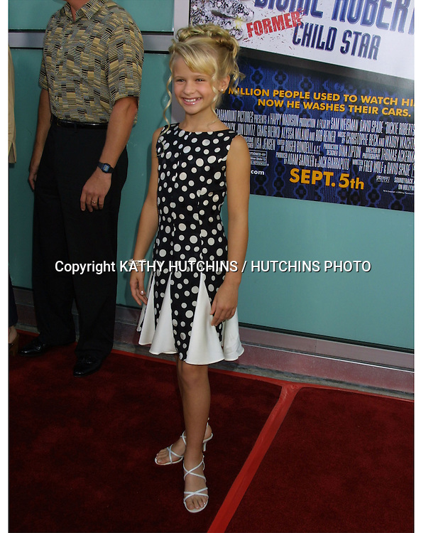 """©2003 KATHY HUTCHINS / HUTCHINS PHOTO.WORLD PREMIERE OF """"DICKIE ROBERTS:FORMER CHILD STAR"""".BENEFITING THE CHRIS FARLEY FOUNDATION.CINERAMA DOME.LOS ANGELES, CA.SEPTEMBER 3, 2003..JENNA BOYD"""
