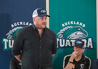 Auckland Tuatara Baseball Team Launch press conference at Auckland Zoo in Auckland, New Zealand on Monday, 27 August 2018, photo: Peter Meecham/www.bwmedia.co.nz