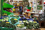Vegetable stall at Xania Market, Crete, Greece