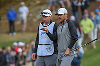 Lucas Bjerregaard (DEN) looks over his chip up on to 18 during day 4 of the WGC Dell Match Play, at the Austin Country Club, Austin, Texas, USA. 3/30/2019.<br /> Picture: Golffile | Ken Murray<br /> <br /> <br /> All photo usage must carry mandatory copyright credit (© Golffile | Ken Murray)