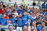 14.07.2019: Rangers v Marseille: Rangers fans
