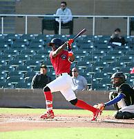 Railin Tejada participates in the MLB International Showcase at Salt River Fields on November 12-14, 2019 in Scottsdale, Arizona (Bill Mitchell)