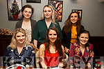Enjoying the night out in the Gra Bistro on Saturday<br /> Seated l to r: Ellen O'Doherty, Sarah Craig and Elenor Murphy.<br /> Back l to r: Muireann Dolan, Michaela Collins and Siadbh O'Donnell.