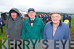 Glin Coursing Day, Sunday 06-10-2013.  Pictured left to right: Tom Taylor of Clonakilty, Patsy Lynch of Tralee and Tommy Quaid of Feohanagh.