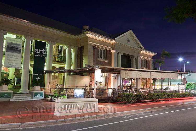 The Cairns Regional Gallery.  Cairns, Queensland, Australia