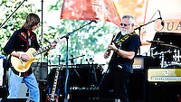 Brian Stolz and his band play at French Quarter Festival 2011.