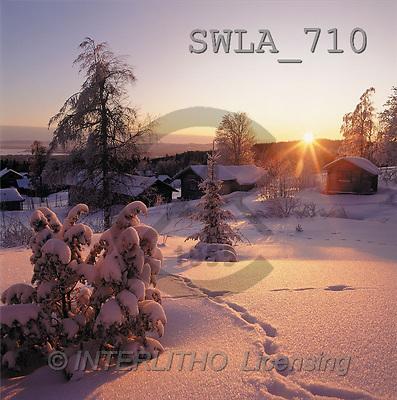 Carl, CHRISTMAS LANDSCAPE, photos(SWLA710,#XL#) Landschaften, Weihnachten, paisajes, Navidad
