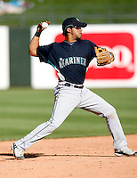 Reegie Corona -  Seattle Mariners - 2009 spring training.Photo by:  Bill Mitchell/Four Seam Images