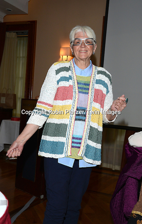 Ms Connor attends the Big Apple Knitters Guild Luncheon on September 20, 2014 at Maloney &amp; Porcelli in New York City.<br /> <br /> photo by Robin Platzer/Twin Images<br />  <br /> phone number 212-935-0770
