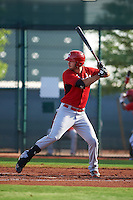 Cincinnati Reds Jarrett Freeland (56) during an instructional league game against the Cleveland Indians on October 17, 2015 at the Goodyear Ballpark Complex in Goodyear, Arizona.  (Mike Janes/Four Seam Images)