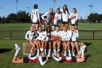 STANFORD, CA - AUGUST 8:  (Not in order) Lydia Bai, Carly Wopat, Hannah Benjamin, Sam Wopat, Rachel Williams, Jessica Walker, Cassidy Lichtman, Gabi Ailes, Alix Klineman, Charlotte Brown, Stephanie Browne, Karissa Cook, Mary Ellen Luck, and Hayley Spelman during picture day on August 8, 2010 in Stanford, California.