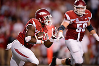 NWA Democrat-Gazette/BEN GOFF @NWABENGOFF<br /> Rawleigh Williams III, Arkansas running back, carries the ball in the first half against Ole Miss on Saturday Oct. 15, 2016 at Razorback Stadium in Fayetteville.