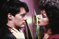 Blue Velvet (1986) <br /> Isabella Rossellini &amp; Kyle MacLachlan<br /> *Filmstill - Editorial Use Only*<br /> CAP/KFS<br /> Image supplied by Capital Pictures