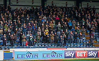 The Yeovil supporters join in a minutes applause in memory of the passing away of Graham Taylor during the Sky Bet League 2 match between Wycombe Wanderers and Yeovil Town at Adams Park, High Wycombe, England on 14 January 2017. Photo by Andy Rowland / PRiME Media Images.