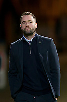 3rd March 2020; Dens Park, Dundee, Scotland; Scottish Championship Football, Dundee FC versus Alloa Athletic; Dundee manager James McPake