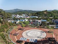 Park in Boseong, Provinz Jeollanam-do, Südkorea, Asien<br /> Park  in Boseong, province Jeollanam-do, South Korea, Asia