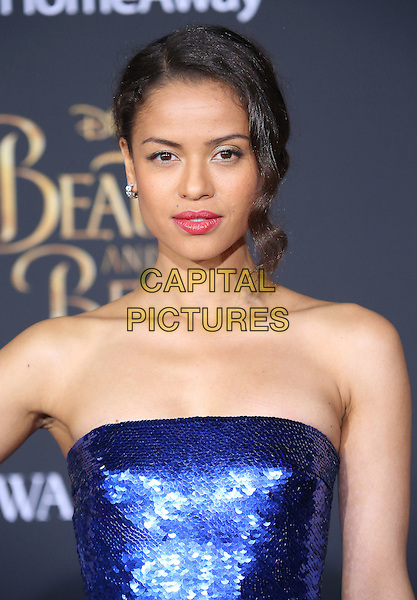 02 March 2017 - Hollywood, California - Gugu Mbartha-Raw. Disney's &quot;Beauty and the Beast' World Premiere held at El Capitan Theatre.   <br /> CAP/ADM/FS<br /> &copy;FS/ADM/Capital Pictures